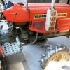 Home-made tractor PTO powered apple scratter